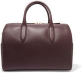 Anya Hindmarch Vere Barrel Leather Tote - Burgundy