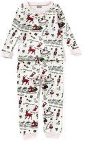 Mud Pie Baby Girls 9-18 Months Very Merry Christmas Pajama Top & Pajama Pant Set