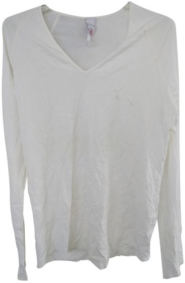 Cycle White Cotton Top for Women