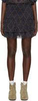 Etoile Isabel Marant Navy Brinley Miniskirt