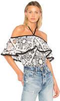 Alexis Isa Top in Black & White