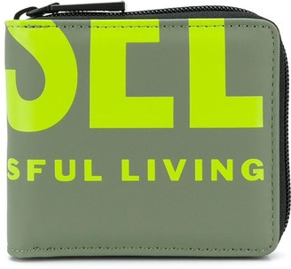 Diesel Logo Billfold Wallet