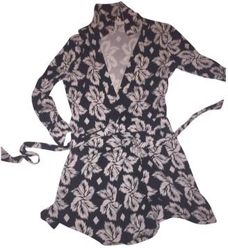 Diane von Furstenberg Black Silk Shorts