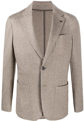 Canali Single-Breasted Blazer