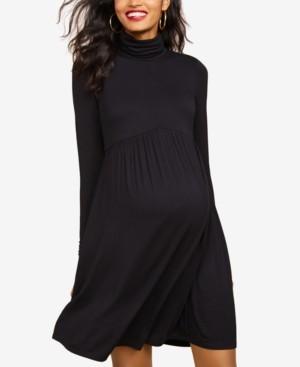 Motherhood Maternity Turtleneck Dress