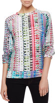 Mary Katrantzou Trellick Tower Printed Sweatshirt