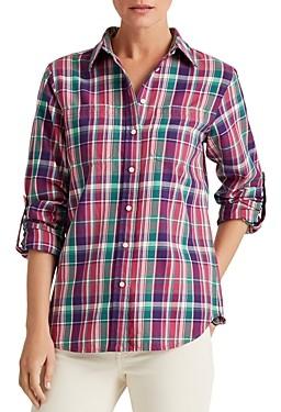 Ralph Lauren Ralph Plaid Roll-Tab Shirt