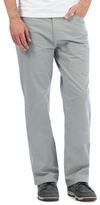 Maine New England Big And Tall Pale Grey Five Pocket Trousers