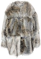 Stella McCartney fur free fur elina coat