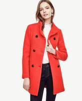 Ann Taylor Banded Statement Coat
