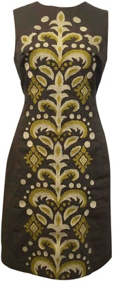 Anthropologie Green Cotton Dresses