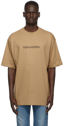 Balenciaga Brown Symbolic T-Shirt