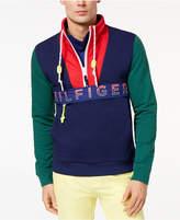 Tommy Hilfiger Men's Newport Colorblocked Logo-Print Sweatshirt