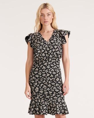 Veronica Beard Lisette Ruched Dress