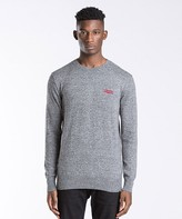 Superdry Orange Label Crewneck Knit Sweatshirt
