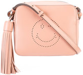 Anya Hindmarch Smiley crossbody bag - women - Leather - One Size