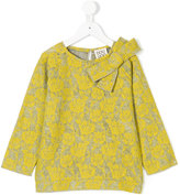 Douuod Kids floral lace blouse