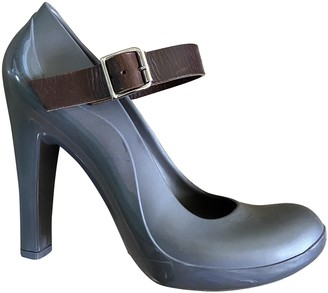 Marni Grey Rubber Heels