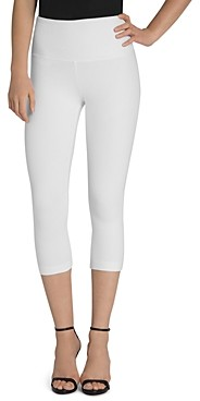 Lysse Denim Capri Leggings in White