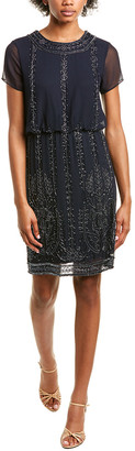 Marina Beaded Mini Dress