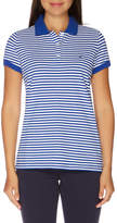Nautica Stripe Short Sleeve Polo Lapis Tide