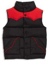 Ralph Lauren Toddler's & Little Boy's Colorblock Down Vest