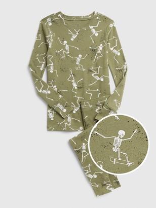 Gap Kids Skeleton PJ Set