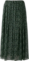08sircus floral print maxi skirt - women - Cotton/Cupro - 2