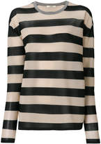 Odeeh longsleeved striped jumper