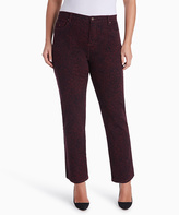Gloria Vanderbilt True Fig Abstract Amanda Jeans - Plus