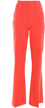 ADEAM Twill Wide-leg Pants