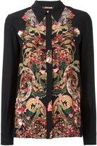 Roberto Cavalli floral print shirt - women - Silk - 40