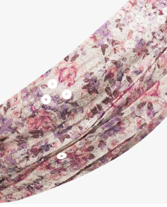 Forever 21 Sequined Floral Headwrap