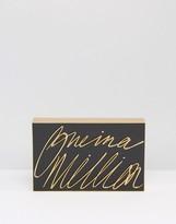 Lulu Guinness One In A Million 3-D Clutch Bag
