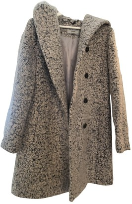 Cole Haan Grey Wool Coat for Women