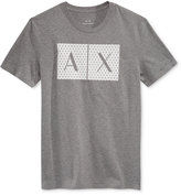 Armani Exchange Men's Foundation Triangulation T-Shirt
