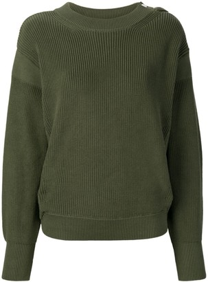 Moncler long-sleeve knitted sweater