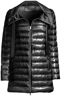 Herno Classic Nylon Down Filled Jacket