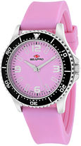 Seapro Tideway Womens Pink Dial Pink Silicone Strap Watch