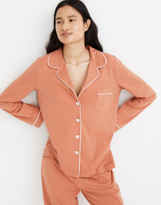 Madewell Knit Bedtime Long-Sleeve Pajama Top