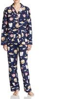 PJ Salvage Chinese Food Flannel Pajama Set