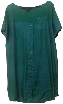Marc by Marc Jacobs Green Silk Top for Women