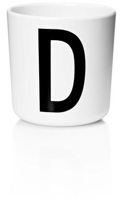 Design Letters Personal Melamine Cup - D