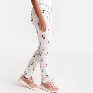 Freeman T. Porter Alexa Floral Print Straight Regular Fit Jeans