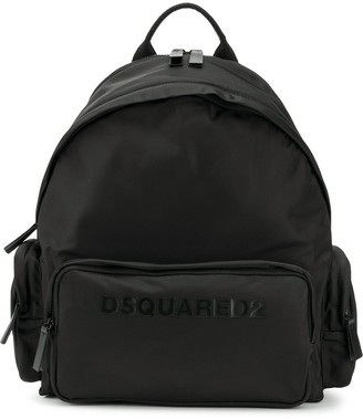DSQUARED2 Logo Printed Backpack