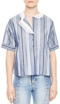 Sandro Cadaques Striped Top
