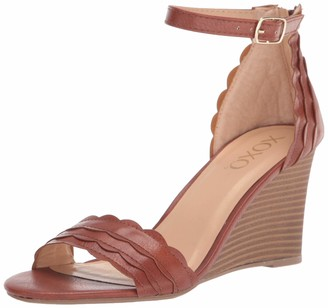 XOXO womens Wedge Sandal