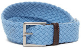 Tommy Bahama Sea Sojourner Leather and Fabric Belt