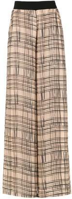 Mara Mac Wide Leg Printed Trousers
