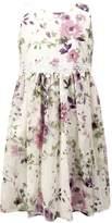 Jayne Copeland Floral Chiffon Dress